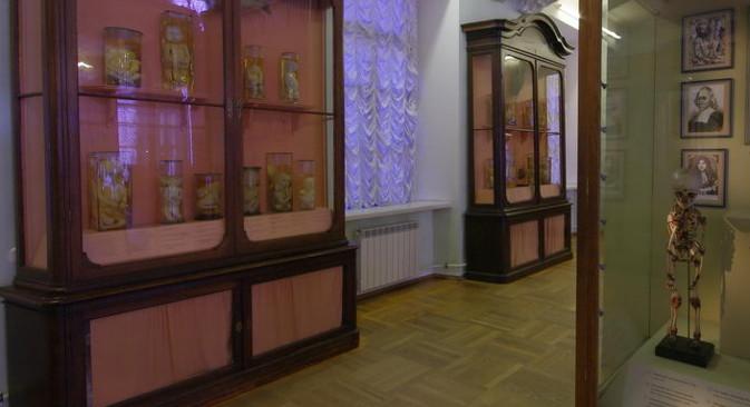 """""""Првите природонаучни колекции во Кунсткамера"""" во Санкт Петербург, првата руска музејска и научна колекција. Извор: культура.рф."""
