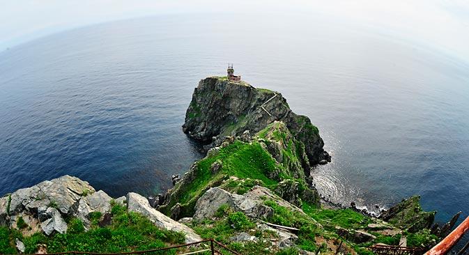 Острво Рејнеке недалеко од Владивостока има велики број дивних плажа и савршено је за одмор од маја до септембра. Фотографија: ИТАР-ТАСС.