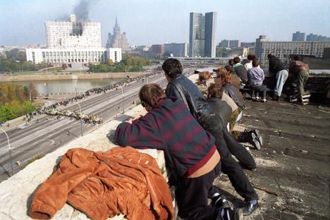 Према различитим изворима, број погинулих у трагичним 1993. догађајима достигао је између 123 и 157. Извор: ИТАР-ТАСС.