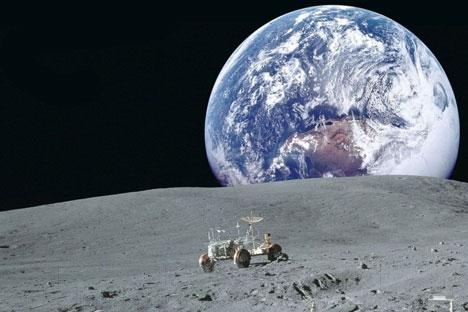 Rússia poderá ter estação de pesquisas na Lua.