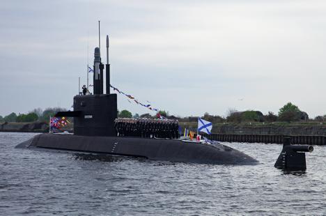 """""""Лада"""" је подморница монолитног архитектонско-конструкцијског типа, прва таква подморница у историји руске флоте. Извор: Министарство одбране РФ / mil.ru."""