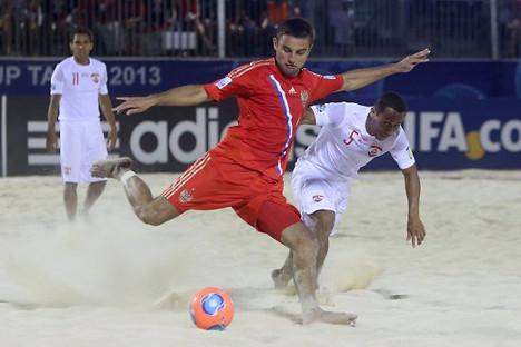 """Ма како то чудно звучало, Русија се наметнула као владајућа сила у """"тропском спорту"""" фудбалу на песку, освојивши два последња светска купа. Извор: AFP / East News."""