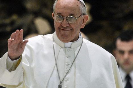 """Ставови Русије и Ватикана су блиски када је реч о потреби заштите хришћанског становништва на Блиском Истоку, пре свега у Либану и Сирији. Извор: РИА """"Новости""""."""