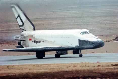"""Руски вишекратни космички брод """"Буран"""" могао је да лети у орбити 30 дана. Извор: ИТАР-ТАСС."""