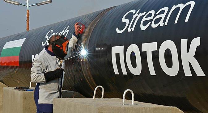 Vertreter der EU-Kommission wollen die Vereinbarungen zur South-Stream-Pipeline mit Gazprom und den beteiligten Mitgliedsländern nachverhandeln. Foto: Pressebild
