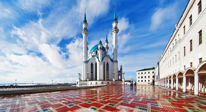 Џамија Кул-Шариф у Казању. Извор: Lori / Legion Media.