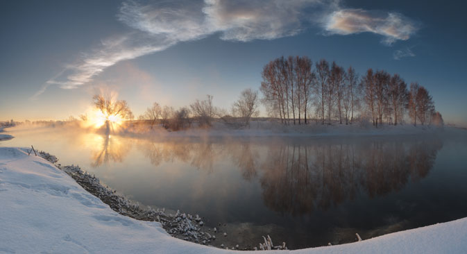 Наочекивани гост из свемира над уралским језером Чебаркуљ. Извор: Geophoto.