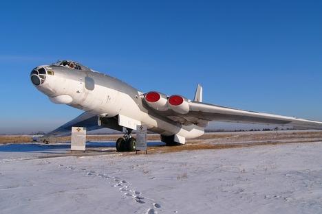 Im nuklearen Wettrüsten entwickelte die UdSSR ihr Bombenflugzeug M-4 – noch vor den USA. Foto: Pressebild