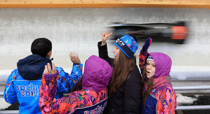 На Олимпијади у Сочију биће предузете ванредне мере безбедности, највеће у олимпијској историји. Укупни трошкови осигуравања безбедности процењени су на неколико милијарди долара. Извор: Photoshot / Vostock photo.