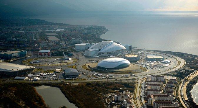 Помало необично за хладну земљу као што је Русија, али Игре у Сочију ће бити прва зимска олимпијада одржана у граду са суптропском климом. Фотографија: Михаил Мордасов.