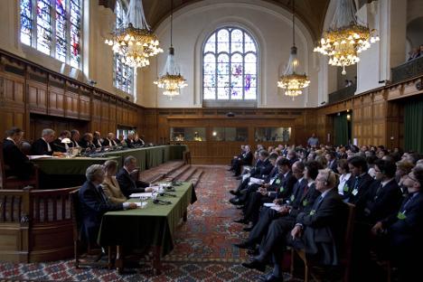 Die Entscheidung des Internationalen Gerichtshofs der Vereinten Nationen in Den Haag zum Status des Kosovo vom 22. Juni 2010 schuf einen Präzedenzfall.  Foto: AFP / East News.