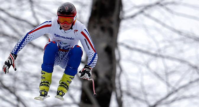 Алексеј Бугајев, најмлађи учесник Параолимпијаде у Сочију. Овај 16-годишњак из Краснојарска освојио је два злата, а укупно је кући у Сибир однео чак 5 медаља. Фотографија: Reuters.