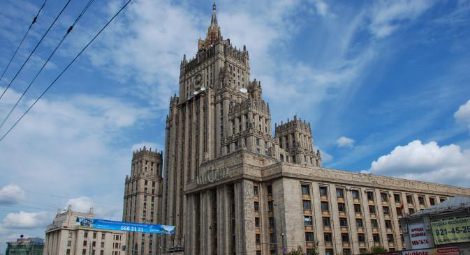 Главно здање Министарства спољних послова РФ у Москви. Извор: Lori / Legion Media.