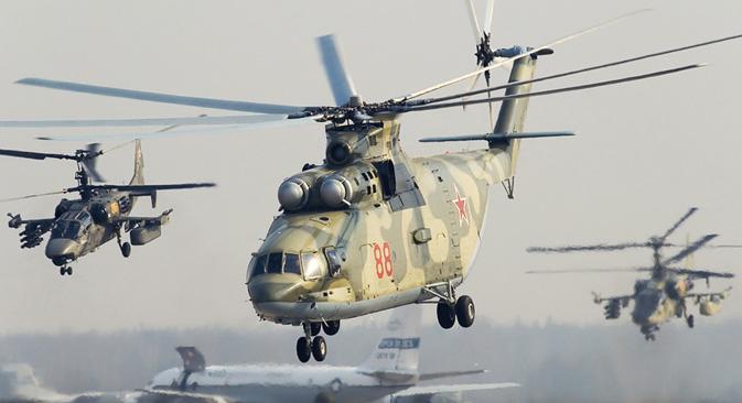 """Тешки транспортни хеликоптер Ми-26. Извор: """"Хеликоптери Русије""""."""