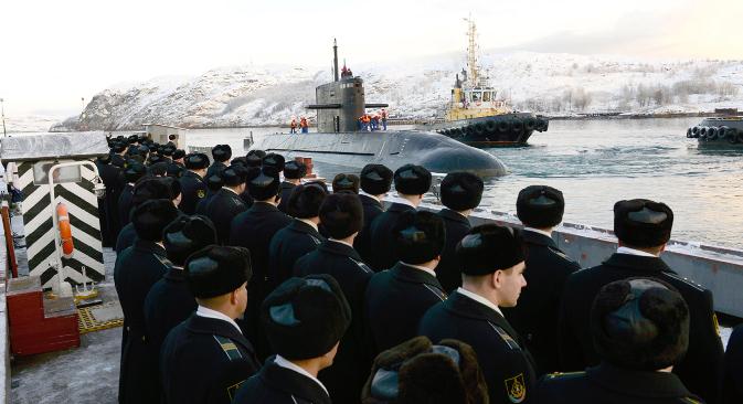 """""""Лајнери"""" ће омогућити Северозападној групацији нуклеарних подморница да држи високи ниво борбене готовости. Извор: PhotoXPress."""