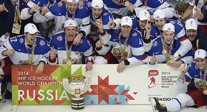 Коначни резултат је поставио Виктор Тихонов Млађи. Извор: AFP/East News.