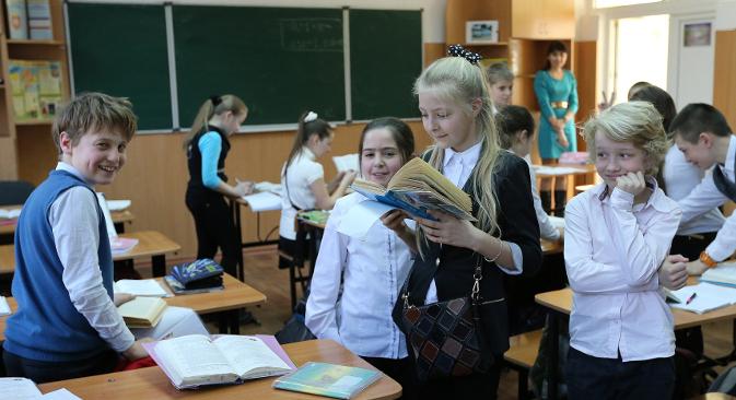 Разорено историјско сећање кримских ђака може се излечити само чињеницама. Извор: ИТАР-ТАСС.