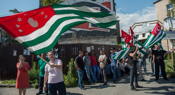 In late August, Abkhazia will elect its fourth president. Source: RIA Novosti