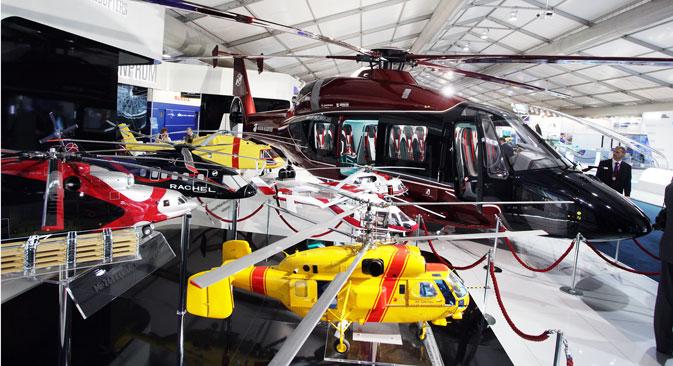 Један од првих купаца Ка-62 (највећи хеликоптер, у позадини) је Бразил. Извор: ИТАР-ТАСС.