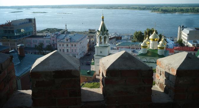 Panorama Nižnjeg Novgoroda. Izvor: RIA Novosti