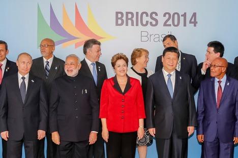Током посете Бразилу Путин се срео и са председницима 11 земаља Јужне Америке. Извор: Прес-служба председника РФ.