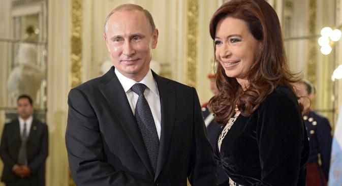 """Значај посете Путина Латинској Америци експерти оцењују с тачке гледишта промене приоритета у спољној политици Русије. Извор: РИА """"Новости""""."""