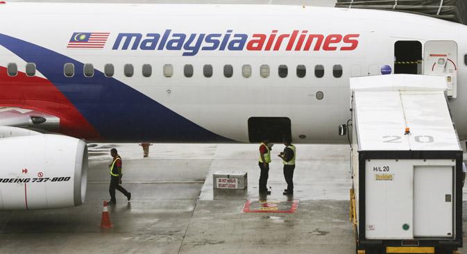 """Малезијски """"Боинг 777"""" пао је на истоку Украјине под засада неразјашњеним околностима. Извор: AP."""