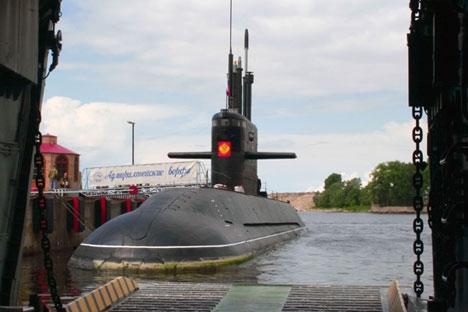 """Руске дизел-подморнице са енергетским уређајем независним од ваздуха ће највероватније вршити службу у Балтичком мору. На фотографији: подморница из пројекта """"Ладa"""". Извор: РИА """"Новости""""."""