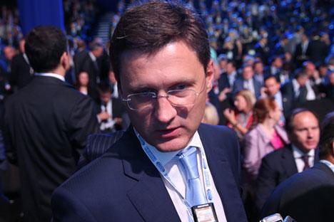 Министар енергетике РФ Александар Новак на форуму Сочи-2014. Извор: ИТАР-ТАСС.