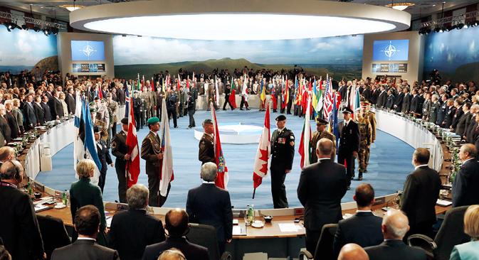 Србија је на самиту НАТО-а у Велсу учествовала на највишем нивоу до сада (ниво министра одбране). Извор: Reuters.