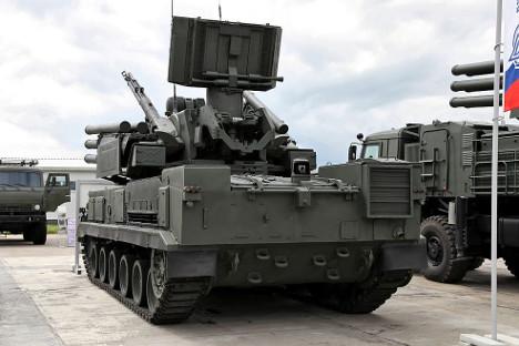 Русија разматра могућност покретања заједничке производње оружја и са Бразилом. На слици: Панцир-С1. Фотографија: Виталиј Кузмин.
