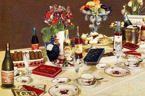 У СССР-у циљ исхране био је да совјетским грађанима обезбеди хранљиве састојке потребне за изградњу боље будућности. Извор: Press Photo.