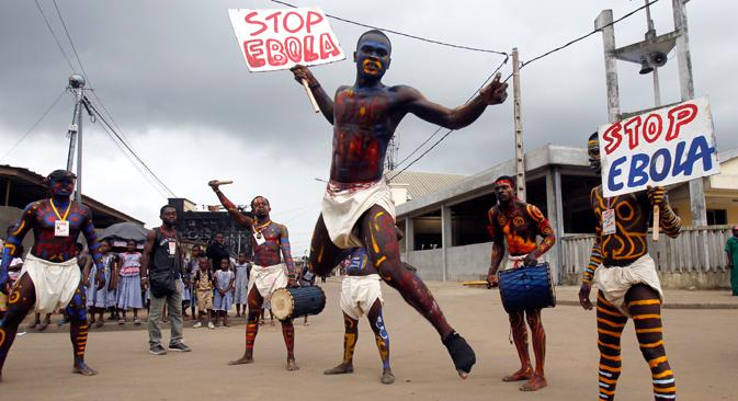 Епидемија грознице ебола почела је у Западној Африци у фебруару ове године. Извор: Reuters.