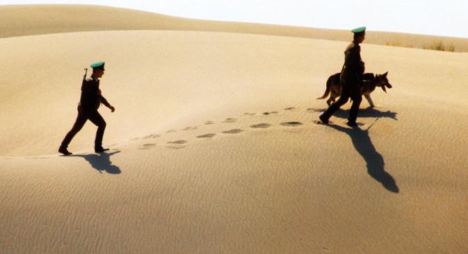 Туркменистански граничари масовнo гину и исламисти их често одводе у заробљеништво. Извор: ТАСС.