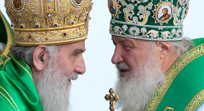 Патријарх московски и целе Русије Кирил долази 13. новембра у тродневну посету Србији. Извор: ИТАР-ТАСС.