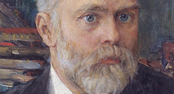 Valentin Serov (1865.-1911.): Portret Emanuela Nobela (1909.)