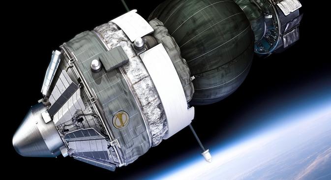 """Пошто су доспеле у хранљиву средину на Земљи, бактерије са летелице """"Фотон-М"""" су почеле да се размножавају. Извор: European Space Agency."""