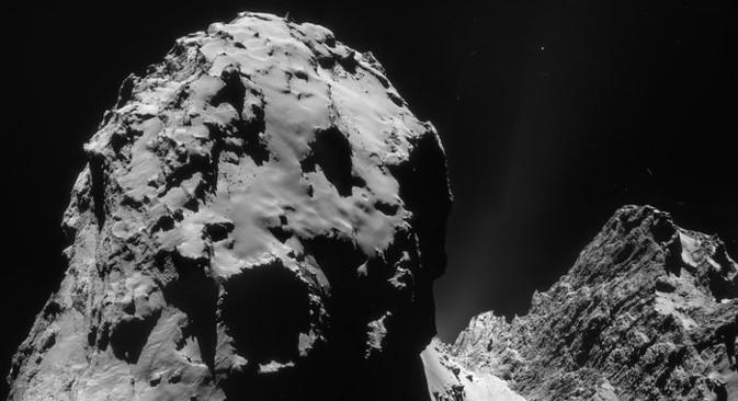 Klim Čurjumov: Glavno dostignuće je spuštanje modula Philae na jezgru kometa. To je daleko teže od spuštanja na Mars, Veneru ili drugi planet, jer tamo ima više prostora i gravitacija je mnogo jača. Izvor: AP