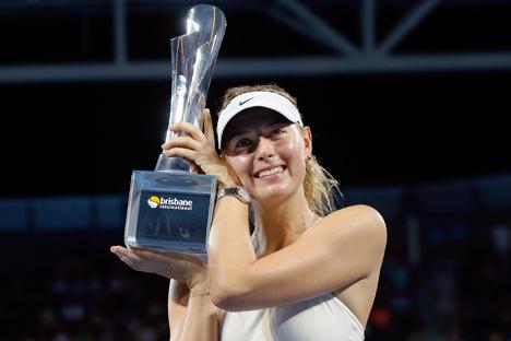 Победа у Бризбејну донела је Марији Шараповој 34. по реду титулу у каријери на такмичењима WTA у појединачној конкуренцији. Извор: Reuters.