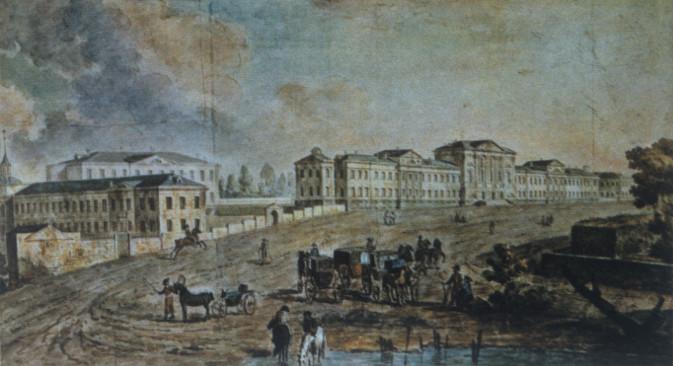 Fjodor Jakovljevič Alekseev (1753.-1824.): Vojna bolnica u Lefortovu (Moskva). Izvor: RIA Novosti