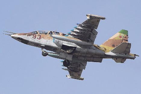 Радови који се у Русији спроводе на модернизацији јуришног авиона Су-25 до верзије СМ3 могу продужити рок његове експлоатације још најмање за десет година. Фотографија: Александар Маркин.
