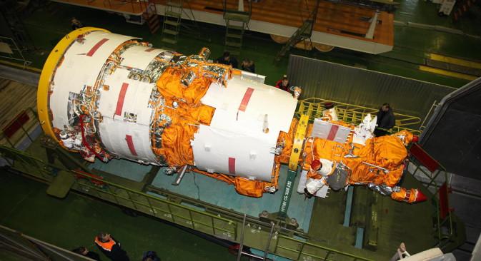 """Очекује се да ће руски пројекат """"Нуклон"""" светску статистику бележења космичког зрачења, која је сакупљена током последњих 50 година истраживања, успети бар да удвостручи. Извор: Роскосмос."""