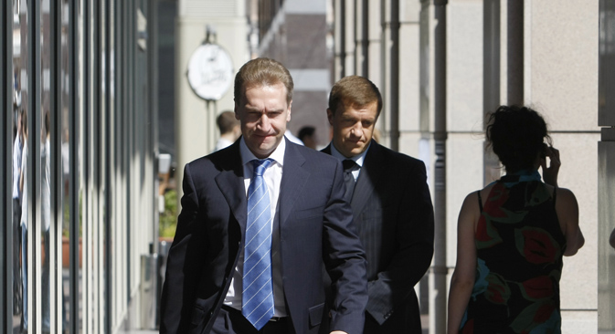 Први потпредседник Владе РФ Игор Шувалов. Извор: Reuters.