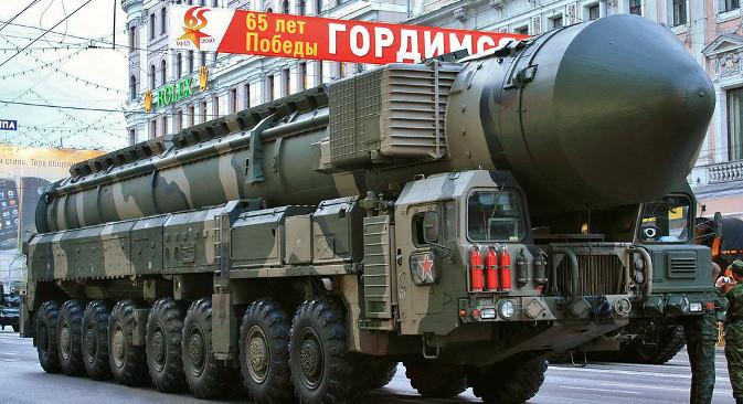 """""""Топољ-М"""", један од најпознатијих симбола нуклеарне моћи Русије, полако застарева. Фотографија: Goodvint."""