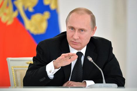 Владимир Путин: Понекад чујемо такве бесмислице да је тешко поверовати да људи иду толико далеко у својим лажима. Извор: ТАСС.