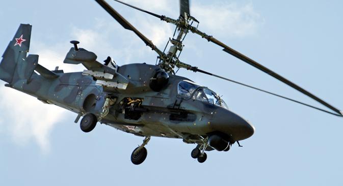 """Ка-52К """"Катрани"""" су намењени првенствено за пружање ватрене подршке десанту. Извор: AP."""
