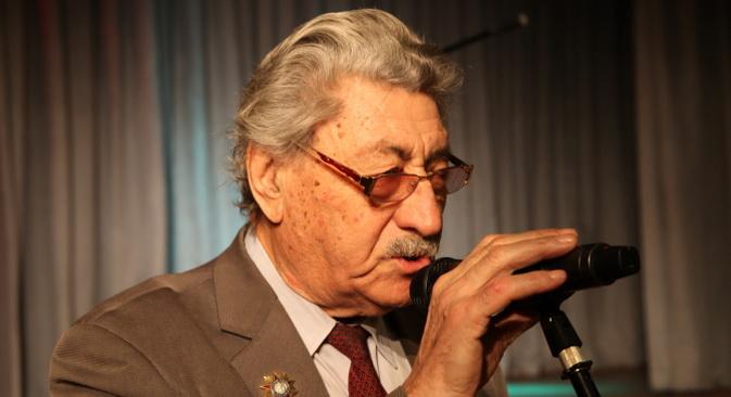 Veteran Drugog svjetskog rata Pavel Rubinčik. Fotografija iz privatnog arhiva.
