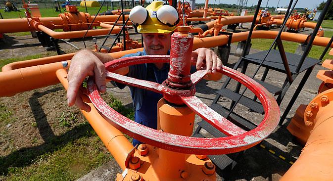 Planirani plinovod Turski tok po svojim propusnim kapacitetima sličan je Južnom toku. Izvor: Reuters.
