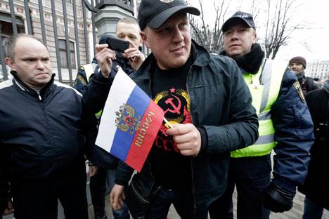 Atualmente existem 270 mil 'não cidadãos' vivendo na Letônia Foto: Reuters