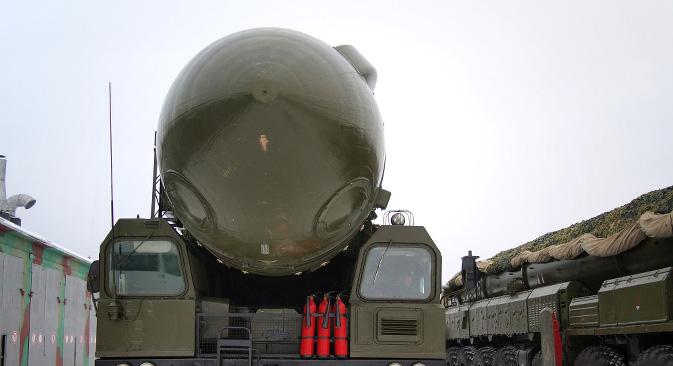 Prema novoj redakciji Vojne doktrine Rusije, zemlja zadržava pravo upotrijebiti nuklearno oružje kao odgovor. Na slici: Topolj-M. Izvor: ilya / flickr.com.